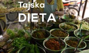 Dietetyczka w Tajskim świecie i ich diecie