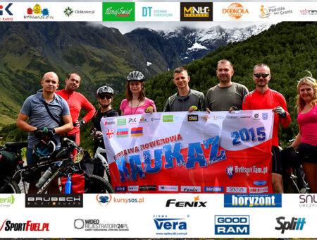 Wyprawa rowerowa na Kaukaz – ekipa, media i sponsorzy