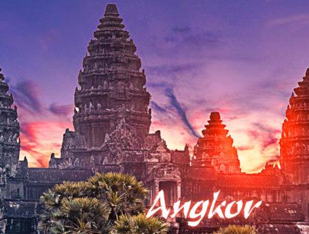 Angkor – miasto pochłonięte przez dżunglę