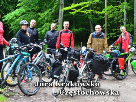 Jura Krakowsko Częstochowska na rowerach