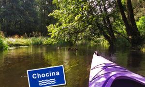 Chocina – rzeka wielu zakrętów i mostków.