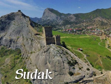 Sudak – genueńska twierdza na Krymie